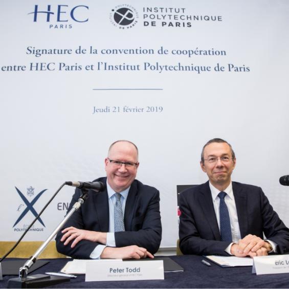 Partenariat avec HEC Paris