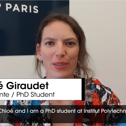 Chloé Giraudet, PhD student at IP Paris