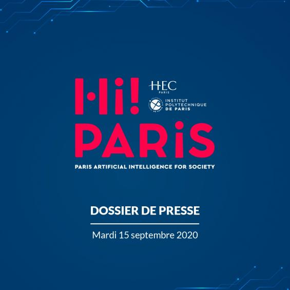 IP Paris and HEC Paris launch a new Center with global ambitions in the fields of AI and Data Science: A Center designed to better serve the interests of Science, Economy, and Society
