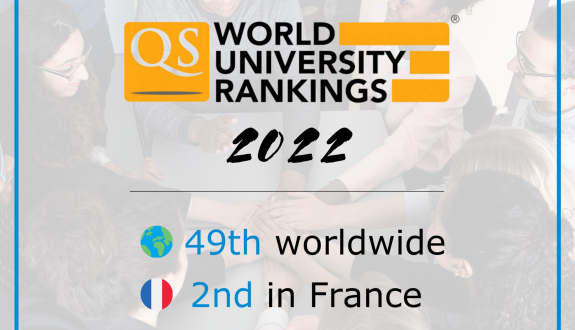 IP Paris in the Top 50 best universities worldwide for its first ranking QS World University Ranking