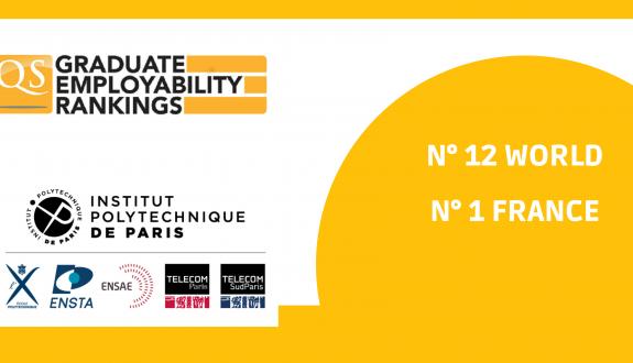 QS Graduate Employability Rankings 2022- lnstitut Polytechnique de Paris ranks 12th worldwide